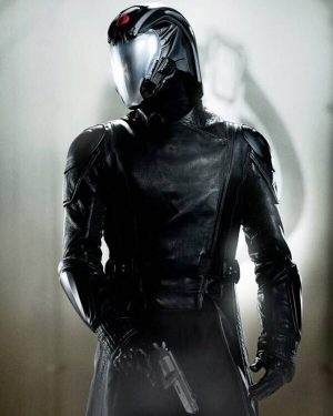Cobra Commander G.I. Joe Retaliation 2013 Luke Bracey Black Leather Long Coat