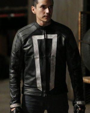 Agents of Shield Gabriel Luna Black Jacket