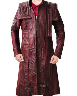 Star Lord Guardians of the Galaxy Vol. 2 Trench Coat