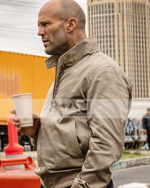 Jason Statham 2021 Wrath of Man Cotton Jacket