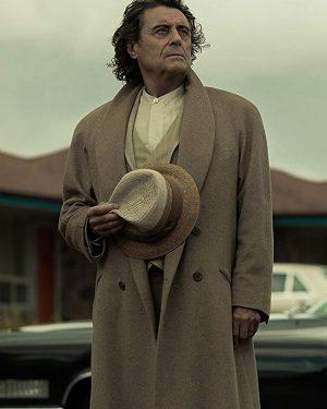 Mr. Wednesday TV Series American Gods S03 Ian McShane Wool Trench Coat