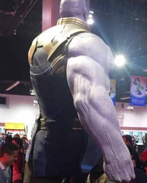 Avengers Infinity War Thanos Cosplay Vest