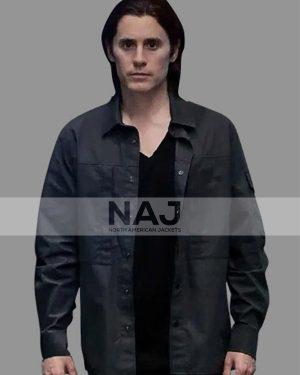 Adam Neumann WeCrashed Jared Leto Black Cotton Jacket