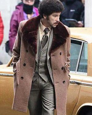 """Joel Fry Cruella 2021 Trench Shearling Coat """