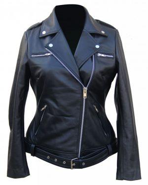 The Walking Dead Negan Leather Jacket for Women
