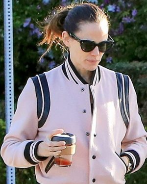 American Actress Jennifer Garner Varsity Jacket