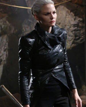 Emma Swan TV Series Once upon A Time Jennifer Morrison Black Leather Jacket