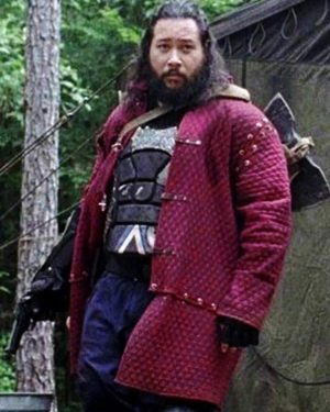 Cooper Andrews The Walking Dead Quilted Jacket