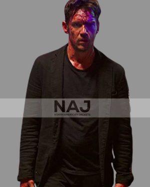 Jonathan Rhys Meyers American Night 2021 Black Blazer