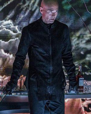 John Wick 3 Mark Dacascos Zero Black Leather Jacket
