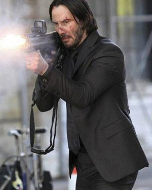 Keanu Reeves John Wick 3 Suit Coat