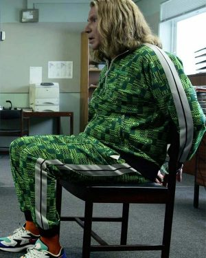 Lars Erickssong Eurovision Song Contest Will Ferrell Green Cotton Tracksuit