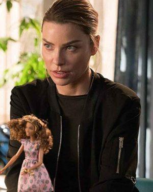 Chloe Decker Lucifer Season 03 Lauren German Black Cotton Jacket