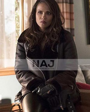Mazikeen Lucifer Season 01 Lesley-Ann Brandt Leather Jacket
