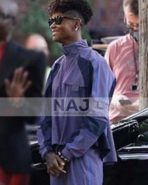 Shuri Black Panther: Wakanda Forever Letitia Wright Cotton Jacket