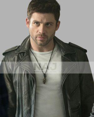 Dalton TV Series Ash vs Evil Dead Lindsay Farris Biker Black Leather Jacket