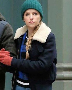 Love Life Anna Kendrick Shearling Jacket