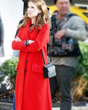 Love Life Anna Kendrick Wool Trench Coat