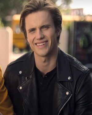 George-Sear-Love-Victor-Benji-Campbell-Black-Leather-Jacket