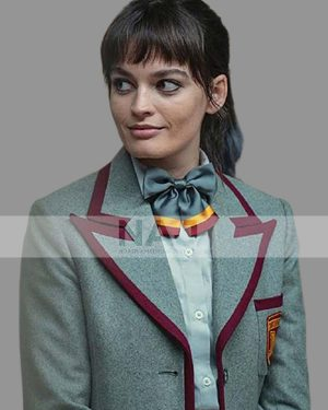 Emma Mackey Sex Education S03 Maeve Wiley Cotton Blazer