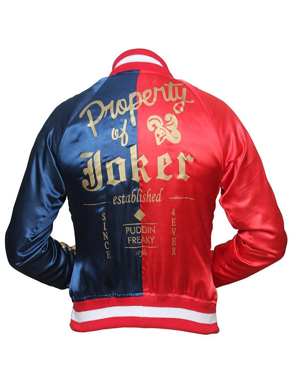 Suicide Squad Harley Quinn Cosplay Women Jacket