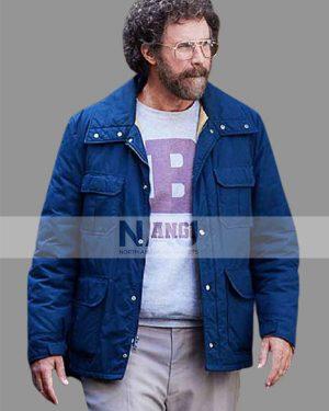 Will Ferrell The Shrink Next Door Martin Markowitz Blue Cotton Jacket