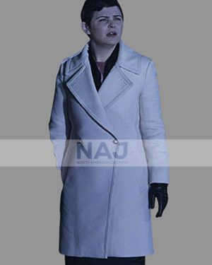 Ginnifer Goodwin TV Series Once Upon a Time Trench Leather Coat