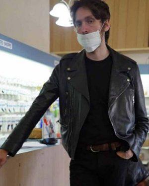 Tyger Tyger Cole Black Leather Jacket