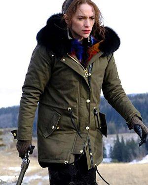 Wynonna Earp Melanie Scrofano Green Parka Jacket