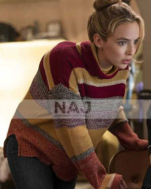 Milly Free Guy Jodie Comer Multicolor Sweater