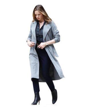 Mission Impossible 6 Rebecca Ferguson Gray Trench Coat