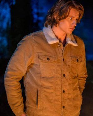 Alex Saxon Nancy Drew Ace Brown Fur Collar Jacket