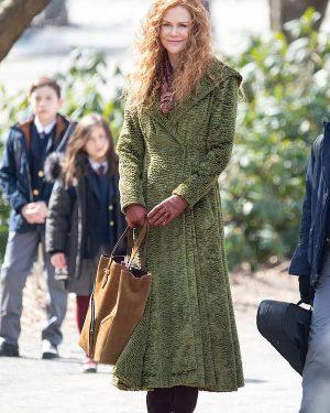 Nicole Kidman TV Series The Undoing Season 01 Grace Sachs Green Long Coat