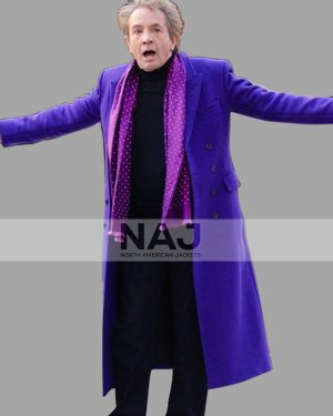 Martin Short Only Murders in The Building Wool Trench Coat