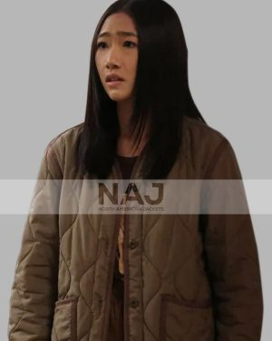 Kung Fu Nicky Shen Brown Quilted Jacket