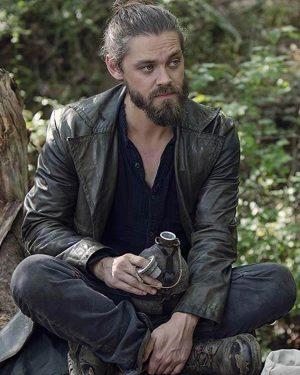The-Walking-Dead-Tom-Payne-Leather-Coat