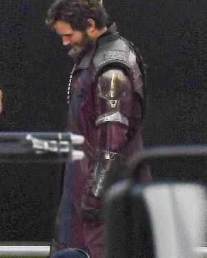 Chris Pratt Thor love and Thunder Peter Quil Trench Coat