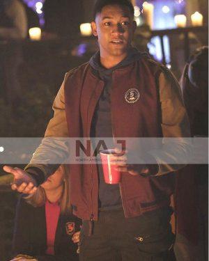 Rafael Waithe Legacies Season 03 Cotton Bomber Jacket