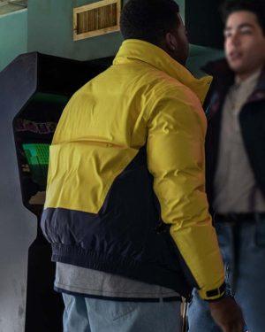 Mekai Curtis Power Book III Raising Kanan Season 01 Parachute Jacket