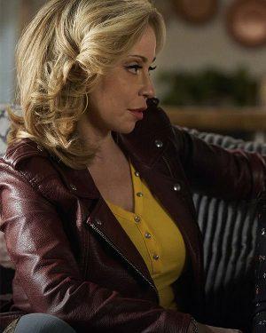 Tiggy Sullivan Pretty Hard Cases Tara Strong Leather Jacket