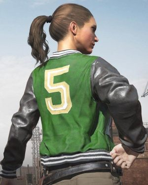 Pubg Varsity 5M Leather Jacket