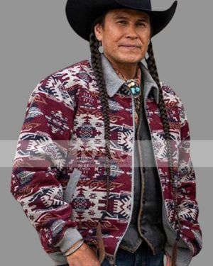 Mo Brings Plenty TV Series Yellowstone Season 04 Jacket