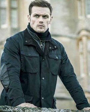 Sam Heughan Sas Red Notice Jacket