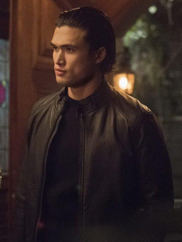Reggie Mantle Riverdale S05 Black Leather Jacket