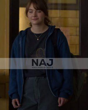 Emilia Jones Coda 2021 Ruby Rossi Blue Hoodie