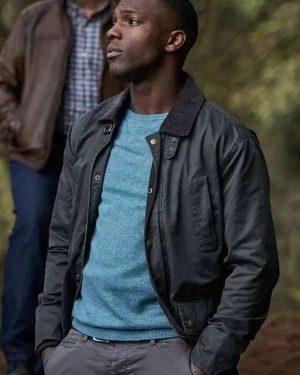 Tosin Cole TV Series Doctor Who Ryan Sinclair Black Cotton Jacket