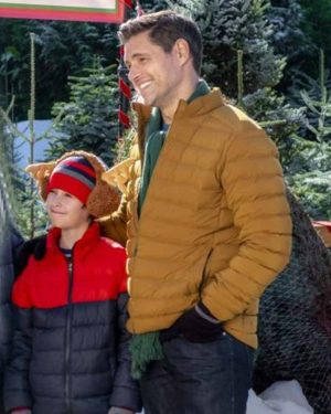 A Godwink Christmas Second Chance First Love Sam Page Puffer Jacket