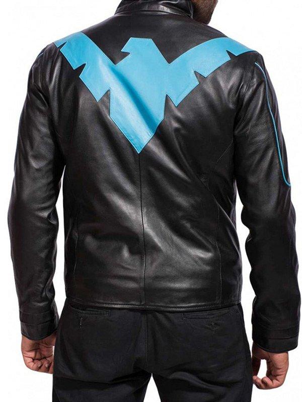 Nightwing-Batman-Arkham-Knight-Scott-Porter-Leather-Jacket
