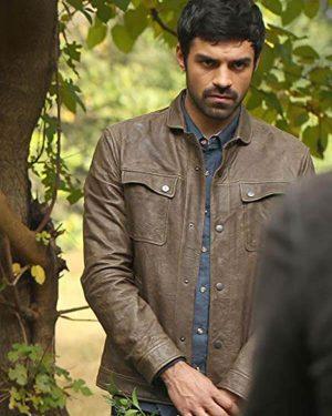 Sean Teale TV Series The Gifted Season 02 Marcos Diaz Leather Jacket