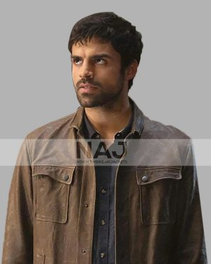 Sean Teale TV Series The Gifted Marcos Diaz Leather Jacket